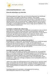 SAK 8 Handlingsprogram for 2008-2009 - Norsk musikkråd