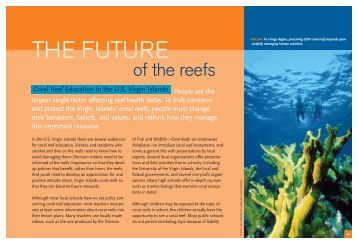 of the reefs - Ocean Conservancy