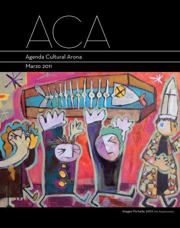 Marzo 2011 Agenda Cultural Arona - Arona.mobi