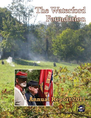 WFI 2011 Annual Report web - Waterford Foundation