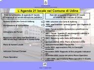Scarica la presentazione (278Kb) - Agenda 21 Locale del Comune ...