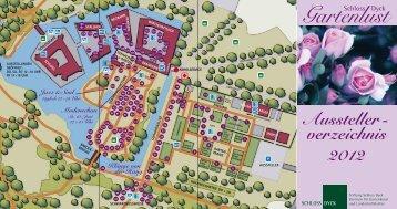 Aussteller - verzeichnis 2012 Gartenlust - Schloss Dyck