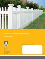 Kroy Picket Fence - BlueLinx