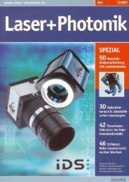 Laser + Photonik, Ausgabe 02/2007 (PDF) - PSI Technics