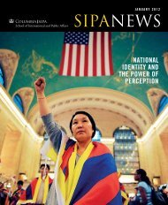 SIPANewS - SIPA - Columbia University