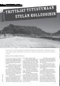 Suomi-Etelä-Afrikka-seura ry:n jäsenjulkaisu 1|2009 - Page 6
