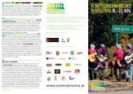 Programm - VI. Mittelamerikanisches Filmfestival
