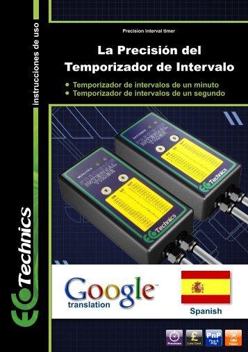 La Precisión del Temporizador de Intervalo - Ecotechnics.co.uk