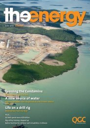 The Energy July 2012, Issue 24 - QGC