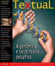Capa Revista Textual - Outubro de 2007 - Sinpro/RS