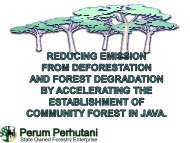 Reducing Emission from deforestation and Forest Degradation by ...