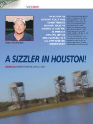 A Sizzler in Houston - Clay Shooting USA