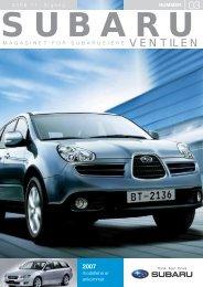2007 - Subaru Norge
