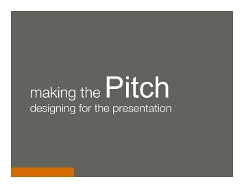How To Pitch (BID 2011).pptx