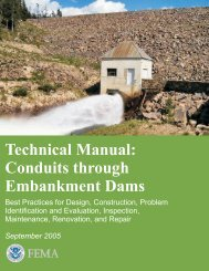 Technical Manual: Conduits through Embankment Dams (FEMA 484)