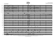 Adios Published Score - Lush Life Music