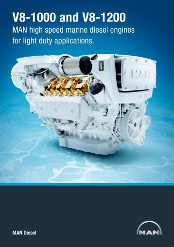 V8-1000 and V8-1200 - Scott Marine Power