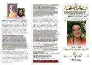 la Swami Mangalananda Giri en Mallorca - Kriya Yoga Institute