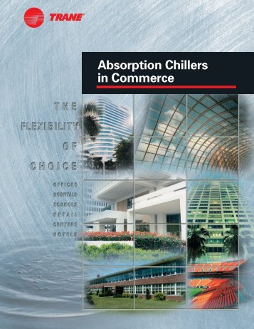 Absorption Chillers in Commerce