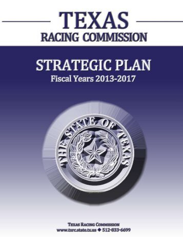 2013-2017 - Texas Racing Commission