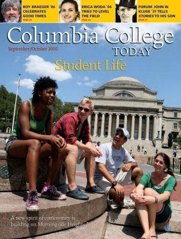 Student Life - Columbia College - Columbia University