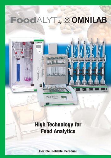 High Technology for Food Analytics