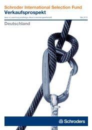 Verkaufsprospekt - Skandia Lebensversicherung AG