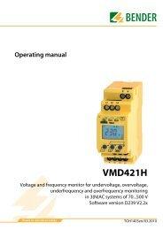 VMD421H - Bender Benelux BV