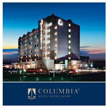 A luxurious location, close to the airport. - Columbia Hotels & Resorts