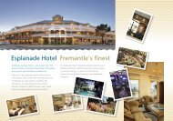 Esplanade Hotel Fremantle's finest - Experience Perth
