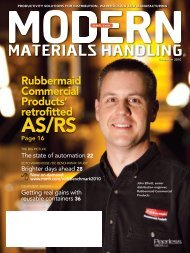 Modern Materials Handling - December 2010