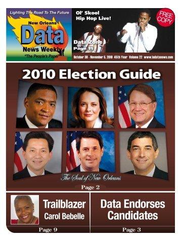 Data Endorses Candidates