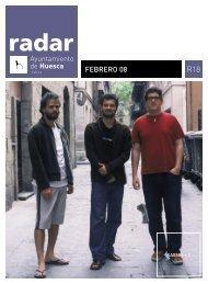 Radar, febrero 2008 - Ayuntamiento de Huesca