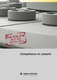 Competence in cement - Gebr. Pfeiffer SE