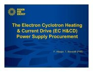Power Supply Procurement - Fusion For Energy