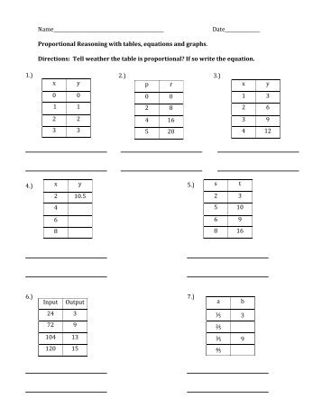 Proportional Reasoning with tables.pdf - MrWalkerHomework