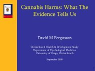 What The Evidence Tells Us - National Cannabis Prevention and ...
