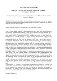 Modifiche e integrazioni - Comune di Bussolengo