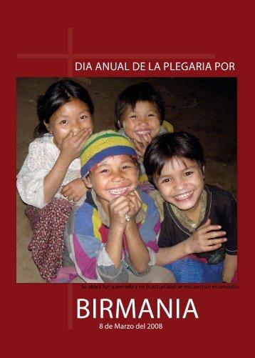 BIRMANIA - Christians Concerned for Burma