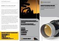 Flyer Type SHD Insulating Joint - Franz Schuck GmbH