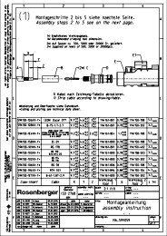 Montageanleitung - rosenberger.de