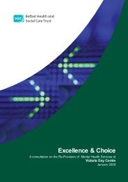 Excellence & Choice - Belfast Health and Social Care Trust