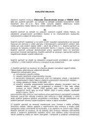 Text koaliční smlouvy