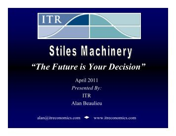 The Real Recovery - Stiles Machinery