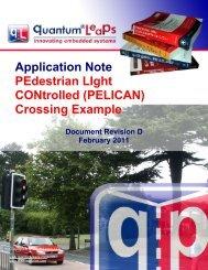 PEdestrian LIght CONtrolled (PELICAN) - Quantum Leaps