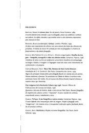A narrativa do olhar -21- Bibliografia - Diversitas