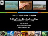 Shrimp Aquaculture Dialogue Setting Up the Steering Committee ...