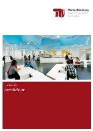 Architektur - Allgemeine Studienberatung an der TU-Berlin
