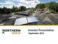 Investor Presentation - gowebcasting