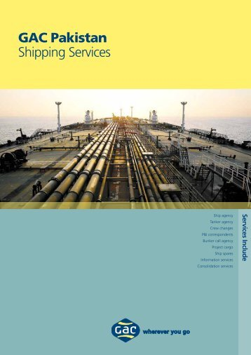 GAC Pakistan Shipping Services